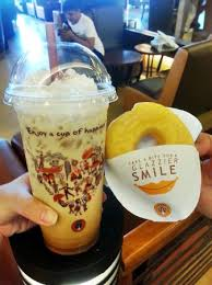 Coffe J Co coffee with free donut picture of j co donuts coffee nagoya