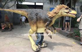 velociraptor costume new design velociraptor costume finished realistic dinosaur
