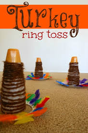 turkey ring toss thanksgiving activity for