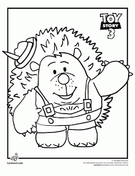 toy story 3 coloring pages eson me