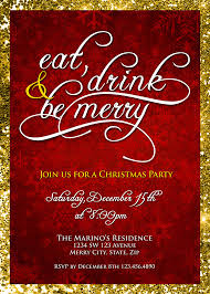 Christmas Party Invitations With Rsvp Cards - party invitation cards company christmas party invitations