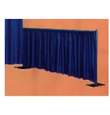 pipe and drape 3 high section of pipe drape price per foot wright