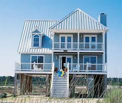 House Plans On Stilts Cottage House Plans Americas Home Hahnow