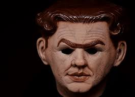don post flat top halloween mask from the movie tracy joey