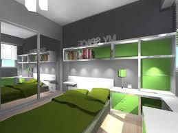 chambre enfants design enfant design verte