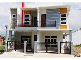 2 Story Duplex House Plans Philippines Duplex House Design in the