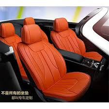 housse si e auto amymgll siège d auto entièrement assis housse de coussin en cuir