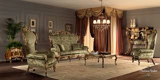 Classic Living Room Furniture Classical Living Room With Hardwood Walnut Furniture Decorated