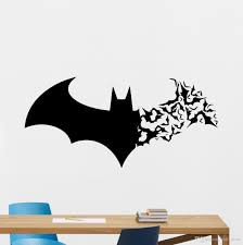 10x wholesale halloween batman wall stickers living bedroom type pvc sticker style graphic vinyl wall sticker use home decoration place of origin zhejiang china mainland model number 3112 material eco pvc