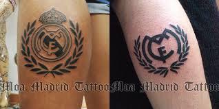 hazte en madrid tu tatuaje del real madrid moa madrid tattoo