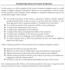 sample class evaluation for educators analyzing data is kept to