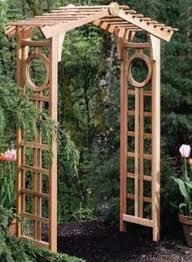 Garden Arch Plans by Stunning Wide Rafter Top Wooden Garden Arch Archway Westmount