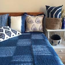 shibori indigo decorative throw pillow shop a beautiful range of