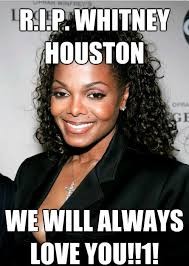 Whitney Meme - rip whitney houston meme research discussion know your meme