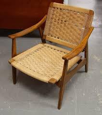 found in ithaca 1960s hans wenger era modern lounge chair made