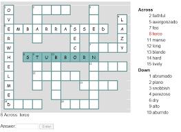 spanish adjectives online activities u2013 home education resources