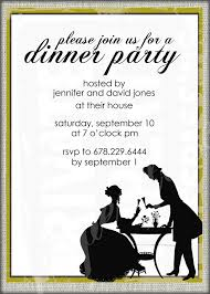 dinner party invitations impressive formal dinner party invitations wording around