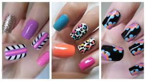 easy nail art for beginners 21 jennyclairefox youtube