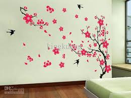 removable black vinyl forest tree living room wall decals brown