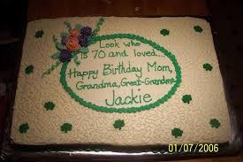 irish 70th birthday cake cakecentral