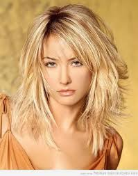 layered medium lenght hair with bangs layered shoulder length haircuts with bangs women medium haircut