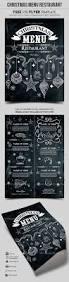 christmas menu restaurant u2013 free psd template u2013 by elegantflyer