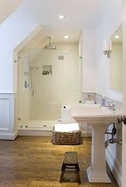 small attic bathroom ideas bathroom small attic bathroom with beams ceiling also frame less