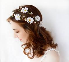 flower hair best 25 flower hair wreaths ideas on flower
