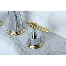 Polished Brass Bathroom Faucets Widespread Milano Widespread Chrome Polished Brass Bathroom Faucet Free