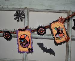 vintage halloween embellishments halloween die cuts