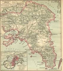 Map Of Ancient Greece by Of Attica 480 Bc