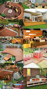 Backyard Decoration Ideas by Backyard Decorating Ideas With Decks And Woodworking