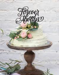engagement cake toppers custom wedding enagement forever and always order online in