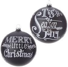 raz merry tis the season ornament set of 2