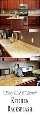 Easy Backsplash Kitchen How To Install An Easy Backsplash Without A Wet Saw Diy Danielle