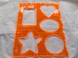 fiskars shape cutter template shapes 4861 ebay