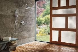 Modern Shower Design Clean U0026 Modern Shower Design U2013 Designer Bath U0026 Salem Plumbing Supply