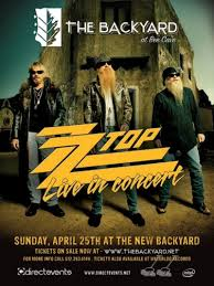 zz top live in concert in bee cave at the backyard live oak