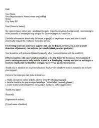 Disability Appeal Letter Donation Request Letters Asking For Donations Made Easy