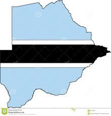 Botswana Map Map Botswana Vector Stock Photos Image 3617583