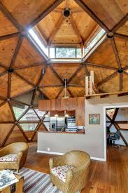 geodesic dome home interior builds awe inspiring geodesic dome home in seven years
