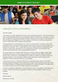 you must need a fresh copy graduate cover letter sample when you