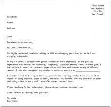 Sample Email Cover Letter For Resume by Download What Should I Put On A Cover Letter