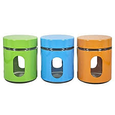 storage canisters for kitchen counter