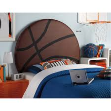 Twin Headboard Upholstered by Powell Upholstered Basketball Twin Headboard Walmart Com