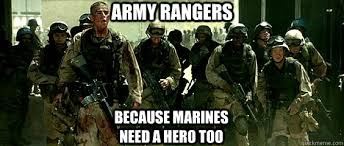 Army Ranger Memes - best marine vs army memes words to live by pinterest army