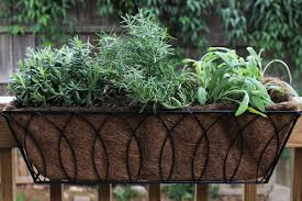 Garden Containers Large - herb garden planter box patio large flower planter ideas copper