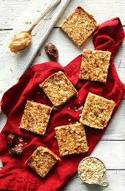 Chewy Almond Butter Power Bars Foodiecrush Com by Peanut Butter Granola Bars Minimalist Baker Recipes