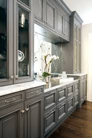 Gray Kitchens Grey Kitchen Cabinets And White Walls Latest Home Decor And Design