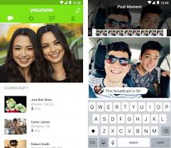 now apk younow live chat apk version